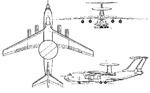 Ilyushin Il-76 Candid A-50 AEW
