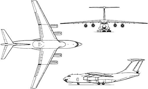 Ilyushin Il-76T Candid