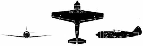 Lavochkin La-11 Fang