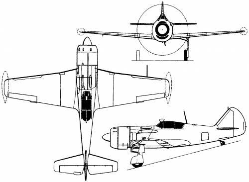 Lavochkin La-11 (Russia) (1947)