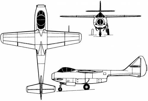 Lavochkin La-150 (Russia) (1946)