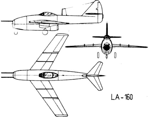 Lavochkin La-160