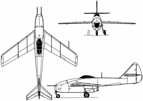 Lavochkin La-160 (Russia) (1947)