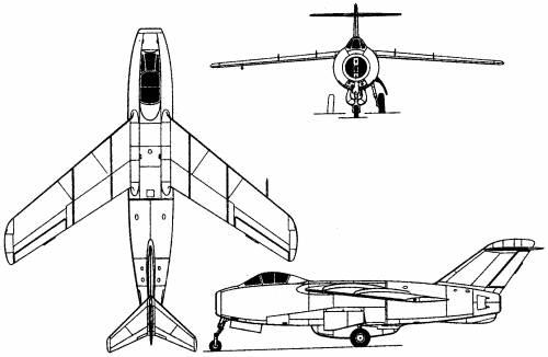 Lavochkin La-168 (Russia) (1948)