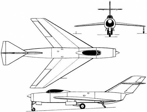 Lavochkin La-190 (Russia) (1951)