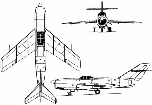 Lavochkin La-200 (Russia) (1949)