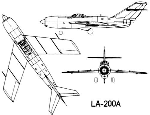 Lavochkin La-200A