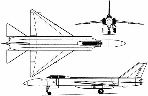 Lavochkin La-250 (Russia) (1956)