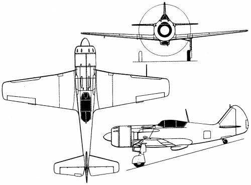Lavochkin La-9 (Russia) (1946)