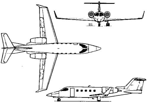 Learjet 21