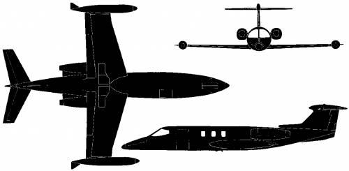 Learjet 24 (USA) (1966)