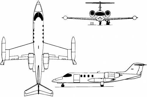 Learjet 35/36 (USA) (1973)