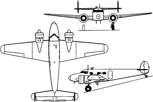 Lockheed 12 Electra Junior