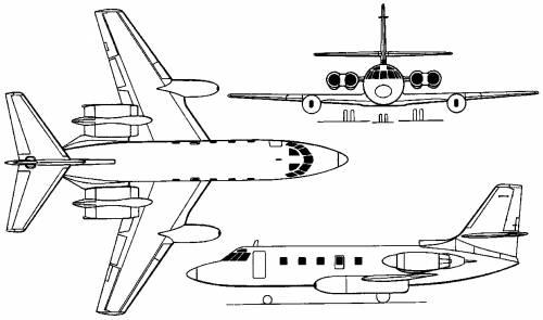 Lockheed 1329 JetStar I / II (USA) (1957)