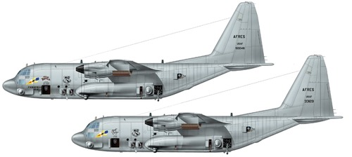 Lockheed AC-130H Spectre Gunship