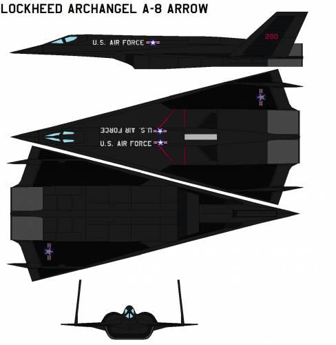 Lockheed Archangel A-8 arrow