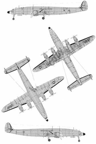 Lockheed C-121C Constellation