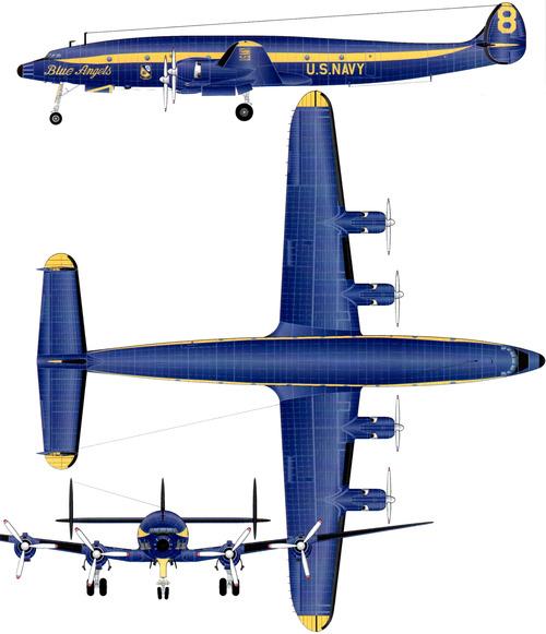 Lockheed C-121J Constellation