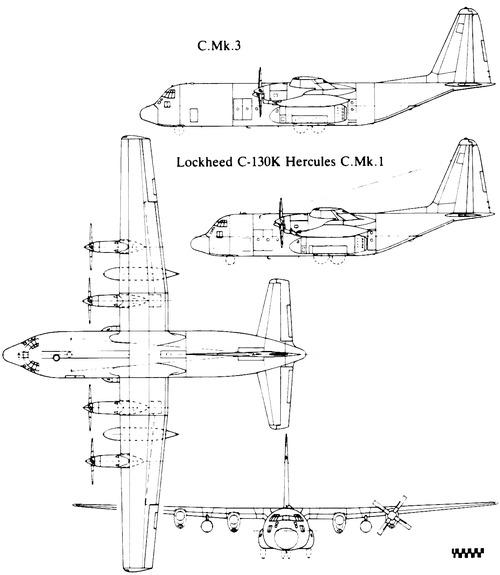 Lockheed C-130K Hercules