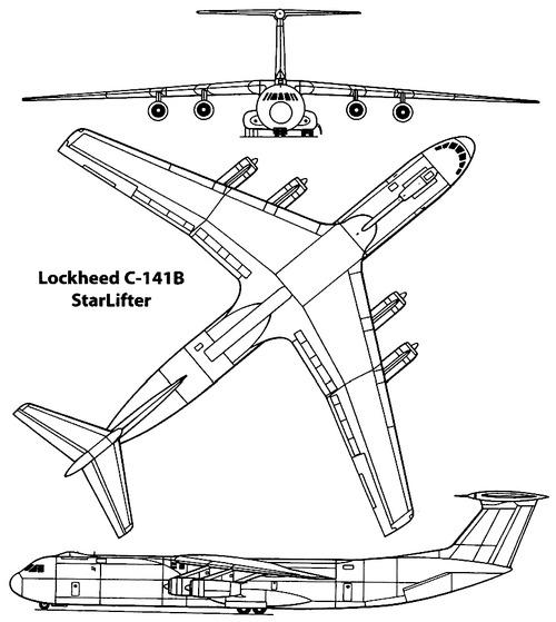 Lockheed C-141B Starlifter