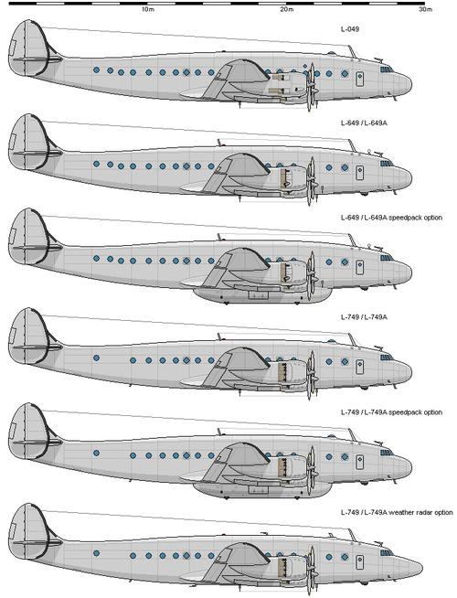 Lockheed C-69- C-121 Constellation