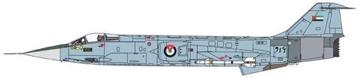 Lockheed Canadair CF-104A Starfighter