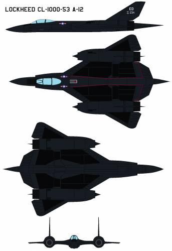 Lockheed CL-1000-53 A-12