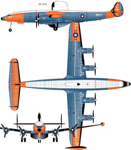 Lockheed EC-121K Constellation