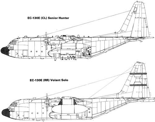 Lockheed EC-130E Hercules