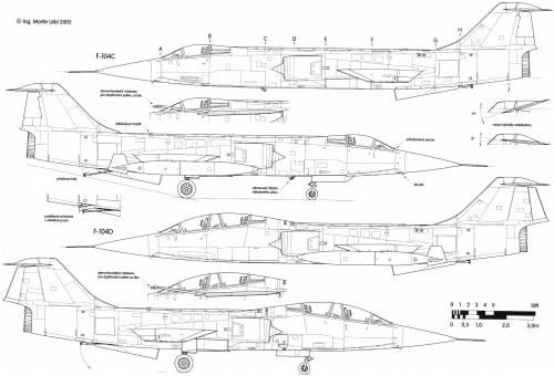 Lockheed F-104C-D Starfighter