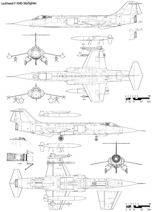Lockheed F-104S Starfighter