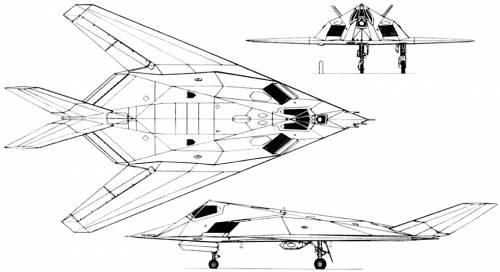 Lockheed F-117 Nighthawk (USA) (1981)