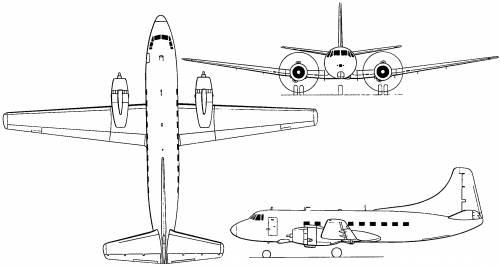 Martin 4-0-4 (USA) (1950)