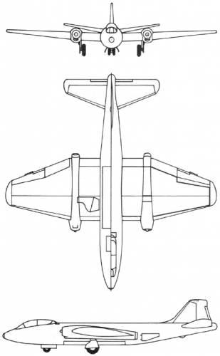 Martin B-57 Intruder (USA) (1953)