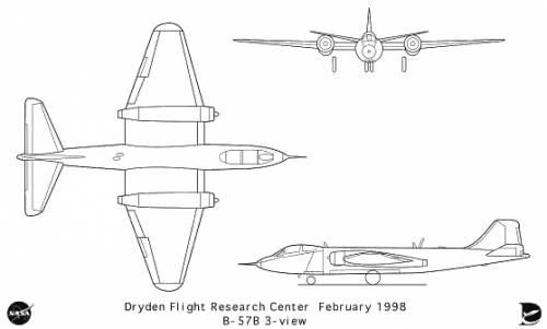 Martin B-57B Canberra