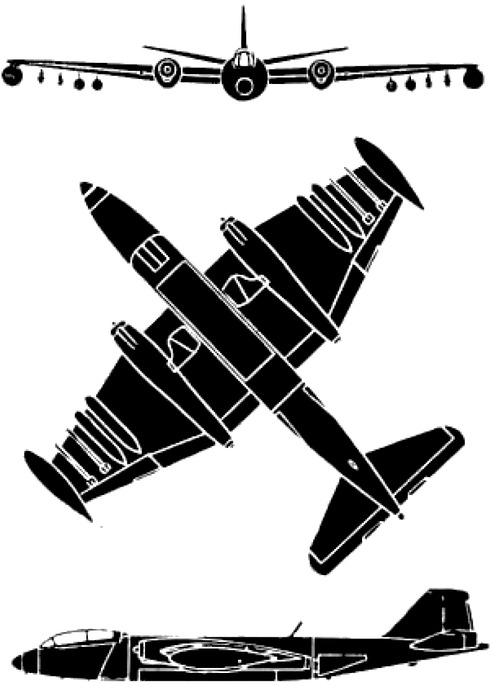 Martin B-57E Canberra