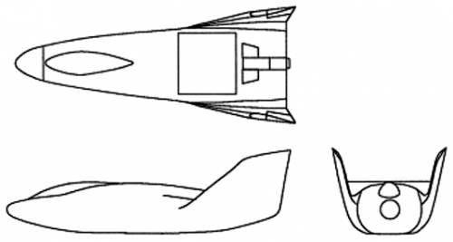Martin-Marietta X-23 Prime