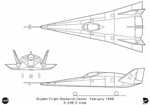 Martin Marietta X-24 B