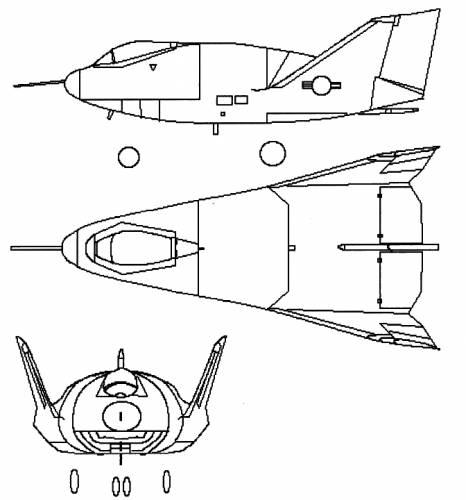 Martin Marietta X-24A Lifting Body