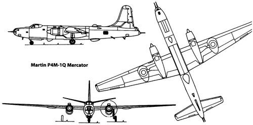 Martin P4M-1Q Mercator