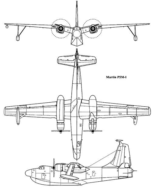 Martin P5M-1 Marlin (1948)