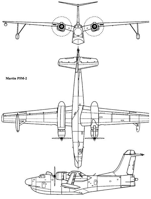 Martin P5M-2 Marlin (1950)