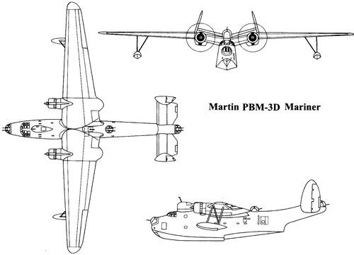 Martin PBM-3D Mariner