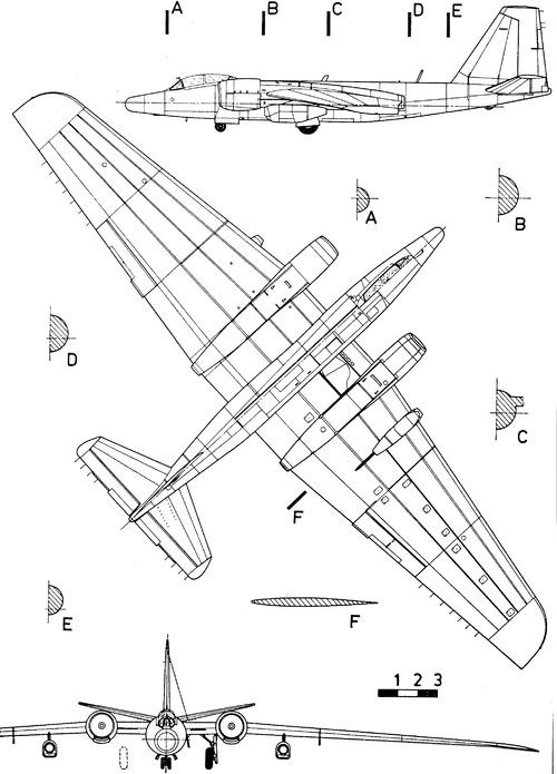Martin RB-57D Canberra