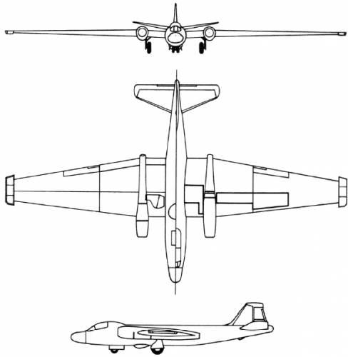 Martin RB-57D (USA) (1956)