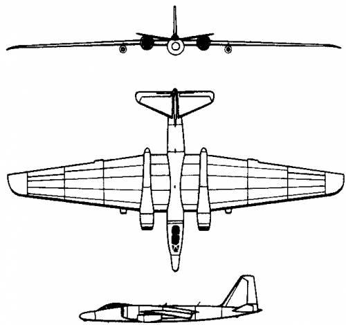 Martin RB-57F (USA) (1966)