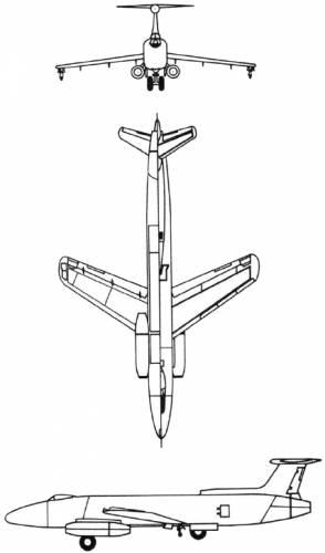 Martin XB-51 (USA) (1949)