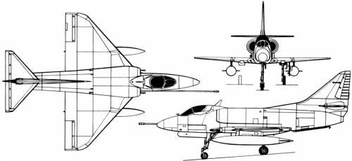 McDonnell Douglas A-4 Skyhawk (USA) (1954)