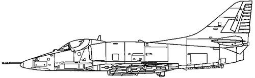 McDonnell Douglas A-4G Skyhawk