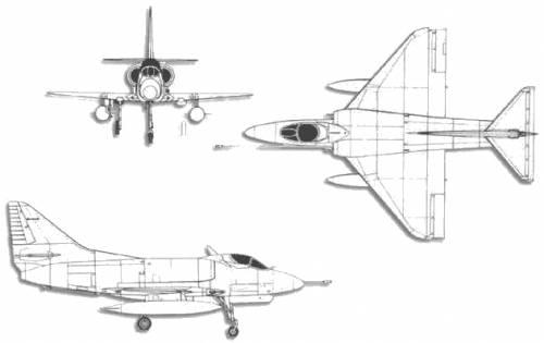 McDonnell Douglas A-4H Skyhawk